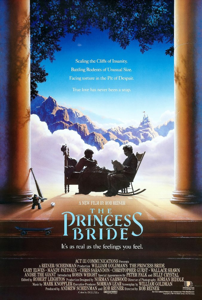 Movie poster for The Princess Bride