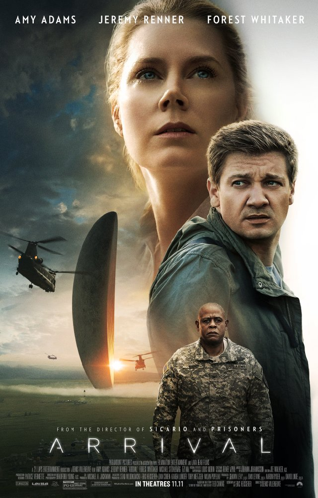 Movie poster for Arrival