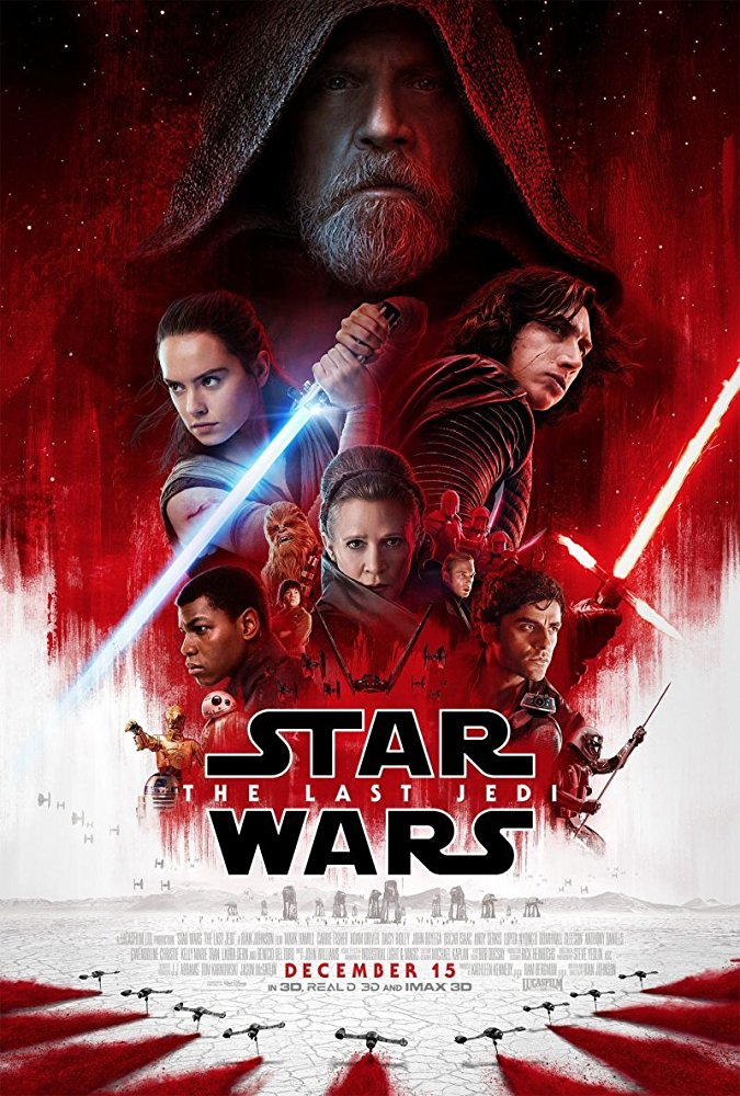 Movie poster for Star Wars: The Last Jedi