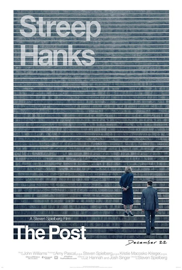 Movie poster for The Post