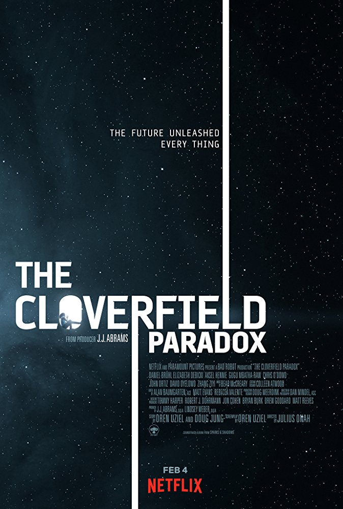 Movie poster for The Cloverfield Paradox